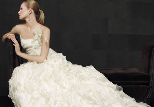Model Novias Bridal Dresses Collection - beautiful girls