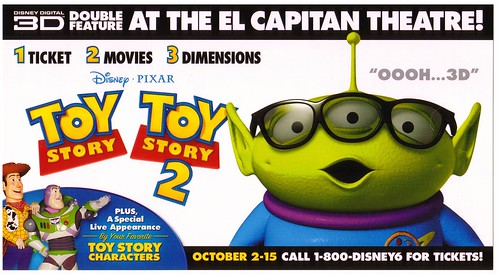 Toy Story 1 y 2 3D