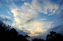 Golden Sky (de Paula FJ) Tags: sunset sky sun clouds lights moments cu luzes atmosfera detalhes poente instantes goldensky sonydsch9 wolffarm depaulafj