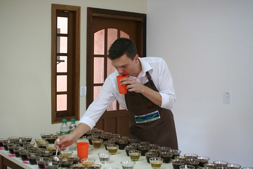 Cupping at Carmo Coffees