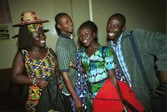 Mac Tontoh Project from Ghana at the Africa Centre London July 2001 052 with Vida Abena Owusua & friends (photographer695) Tags: world africa from 2001 abena music london mac african centre band july jazz ghana vida warriors ashanti kete trumpeter amanas osibisa tontoh owusua nanaeba exosibisa