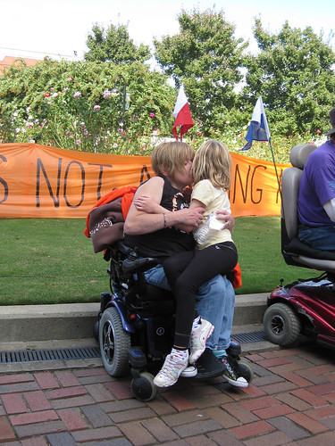 ADAPT rally and march in Atlanta, Sunday
