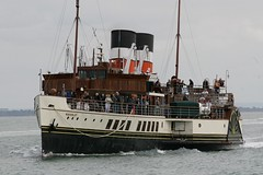 Paddle Steamer Waverley (John Ambler) Tags: ship paddle steam solent yarmouth steamer isle wight waverley paddlesteamer pswaverley