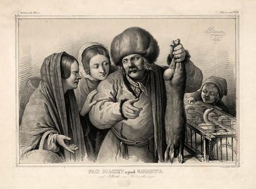 004-El Sr. Maciey de Lukow- Varsovia 1841-Album de dibujos de Varsovia- Piwarski