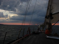 nostalgia for the wind.. (miradel) Tags: trip friends sunset sea sky sun water clouds sailboat for wings moments sailing wind time good horizon memories baltic adventure nostalgia thoughts simplicity sail moment simple somewhere mira dudel