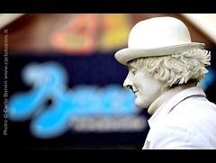 """Eurochocolate 2009 - Perugia (Carlo """"Granchius"""" Bonini) Tags: italy nikon streetartist perugia umbria d300 cioccolata baciperugina carlobonini granchius eurochocolate2009"""