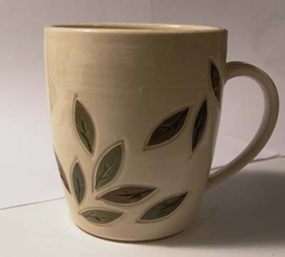 Leafy mug
