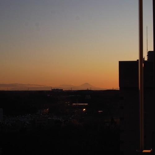 Fuji, far away