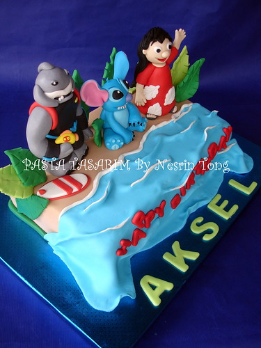 LILO AND STITCH CAKE- AKSEL'S BIRTHDAY