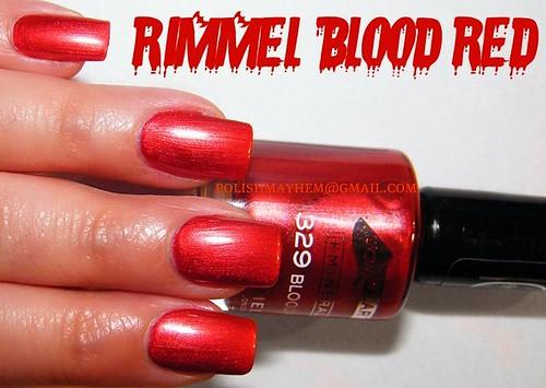 Rimmel Blood Red