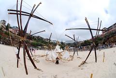 DSC_0334 ([+babydoll]) Tags: sea art bondi fisheye sculpturebythesea 2009 artworks sculpturesbythesea scuptures fisheeye