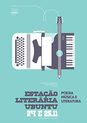 (A P 3 0 3) Tags: music verde green typewriter festival illustration pencil paper print