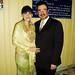 Enrique Chavez Maranto felicitó a su esposa Suraya.