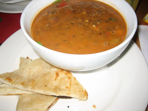 lentil soup at big mouth