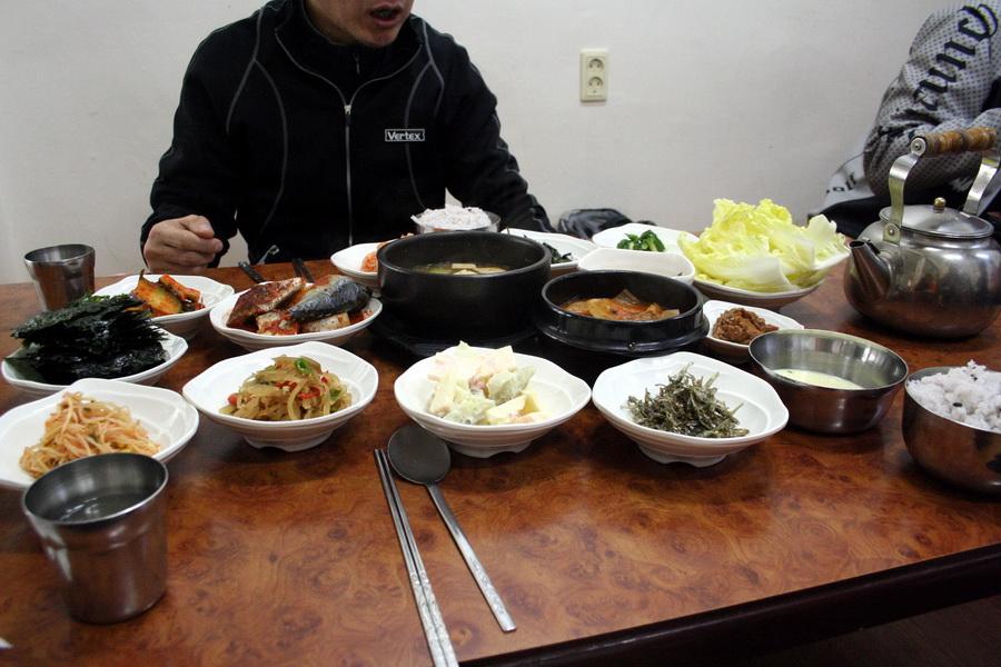 Lunch (baekban set)