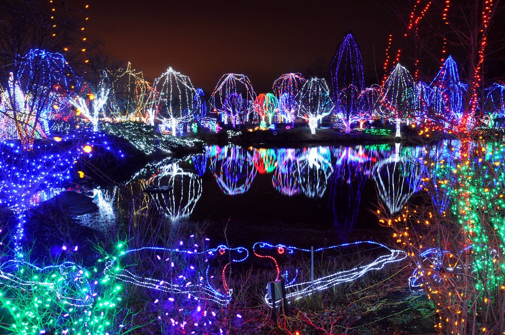 columbus zoo - Unique Outdoor Christmas Decorations