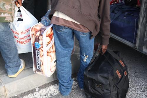 mantas de inmigrantes en la estación de jaén