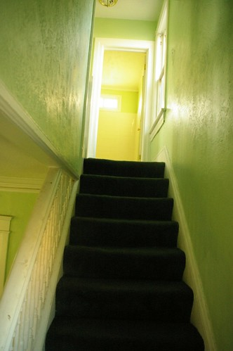 Langston Hughes house - stairs
