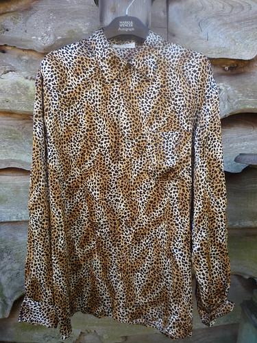 Equipment leopard shirt