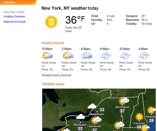 bing weather map
