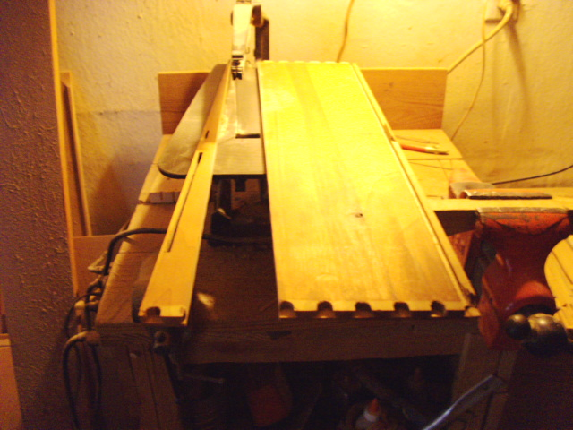 Straightening the board to the glue up