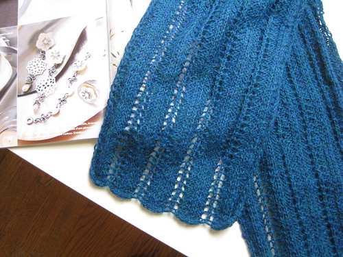Alpaca lace scarf from Marie Claire Idees