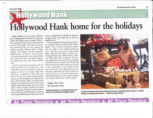 Hollywood Hank December 2009
