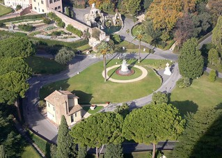 Rome - The Vatican Gardens in Vatican City