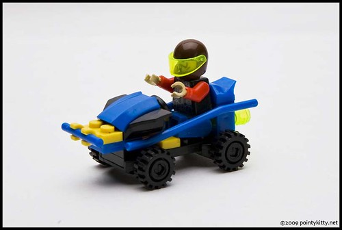 Violent Wind Speed - Jing Zhiwei Bootleg of LEGO - Car b