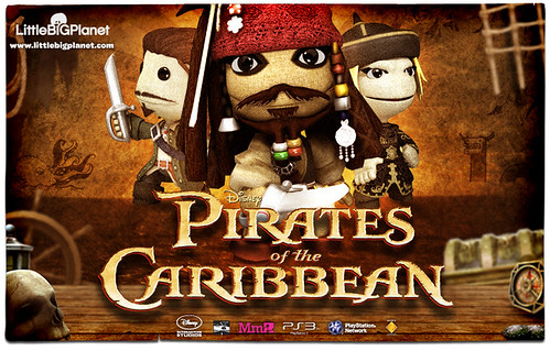 LittleBigPlanet Pirates of the Caribbean
