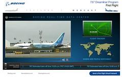 Boeing 787 Dreamliner First Flight