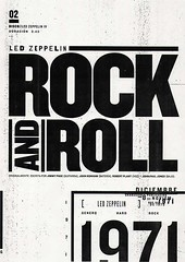 02-rock-and-roll (- vanth -) Tags: 4 juego iv diseo ledzeppelin rockandroll tipografia fadu