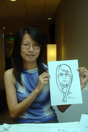 Caricature live sketching for Lonza - 5