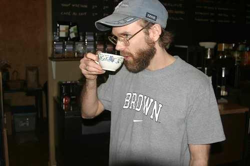 Cupping with XPress Lid @ Crema Coffeehouse