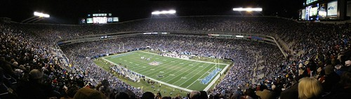 Bank of America Stadium Panorama