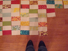 Brick Quilt Layout: Part 2 (KMQuilts) Tags: ava landen quiltalong brickquilt avalanden