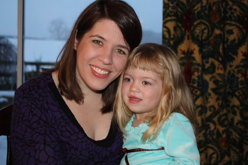 me & Catie at Christmas dinner