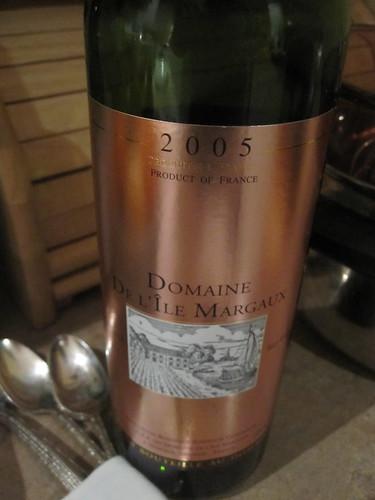 More wine: Domaine de l'île Margaux