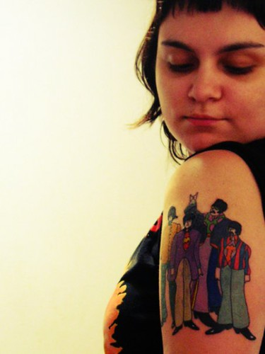 beatles tattoo.