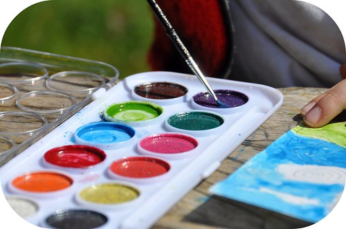 Outdoor Water colors