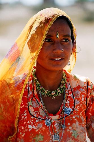 portrait indienne