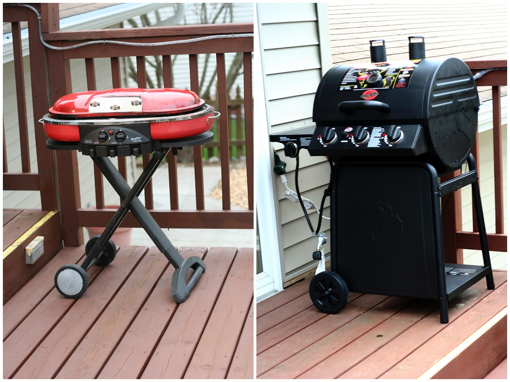 Old Grill - New Grill