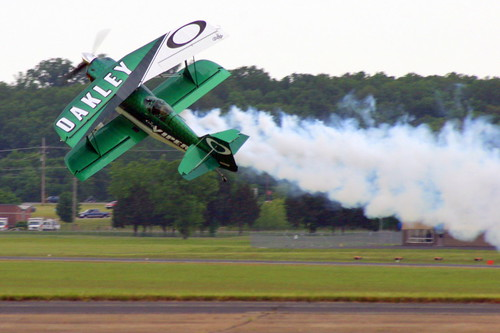 Air Show: Jason Newburg Knife-Edge Take Off