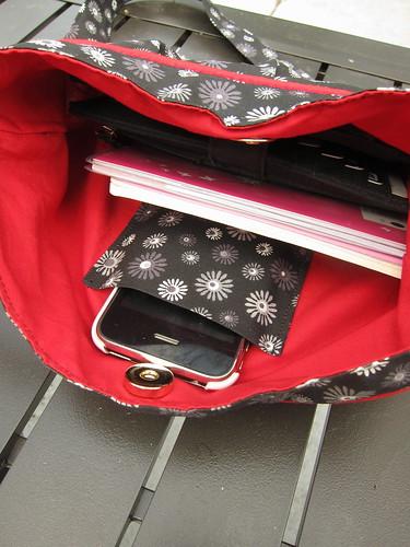 Iron Craft Challenge #19 - Spring Flower Bag