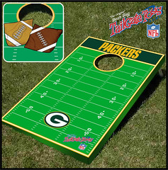 Green bay Packers Bean Bag Toss Game