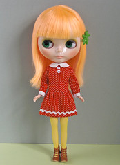 Low west dress red