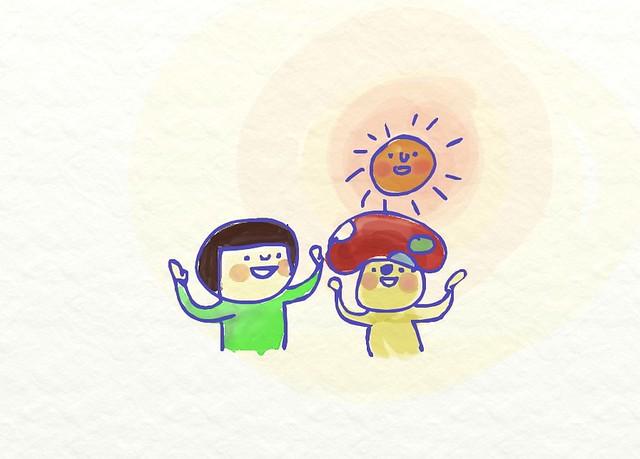 [剪頭毛] 蘑菇朋友