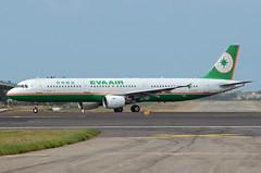 EVA Airways Airbus A321-211 B-16203 (EK056) Tags: eva airways airbus a321211 b16203 taiwan taoyuan international airport