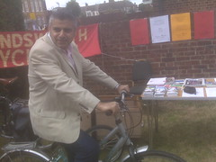 With Wandsworth Cyclists at the BATCA Fun day