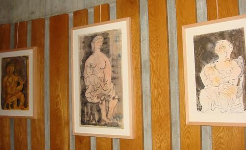 Exposición de arte y lactancia